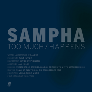 Sampha - Too Much : Happens